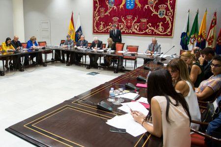 La Audiencia de Cuentas de Canarias presenta en el Parlamento seis informes de fiscalización