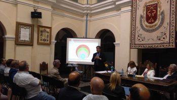 El presidente de la Cámara de Cuentas de Andalucía  inaugura unas  jornadas de las instituciones de autogobierno andaluzas