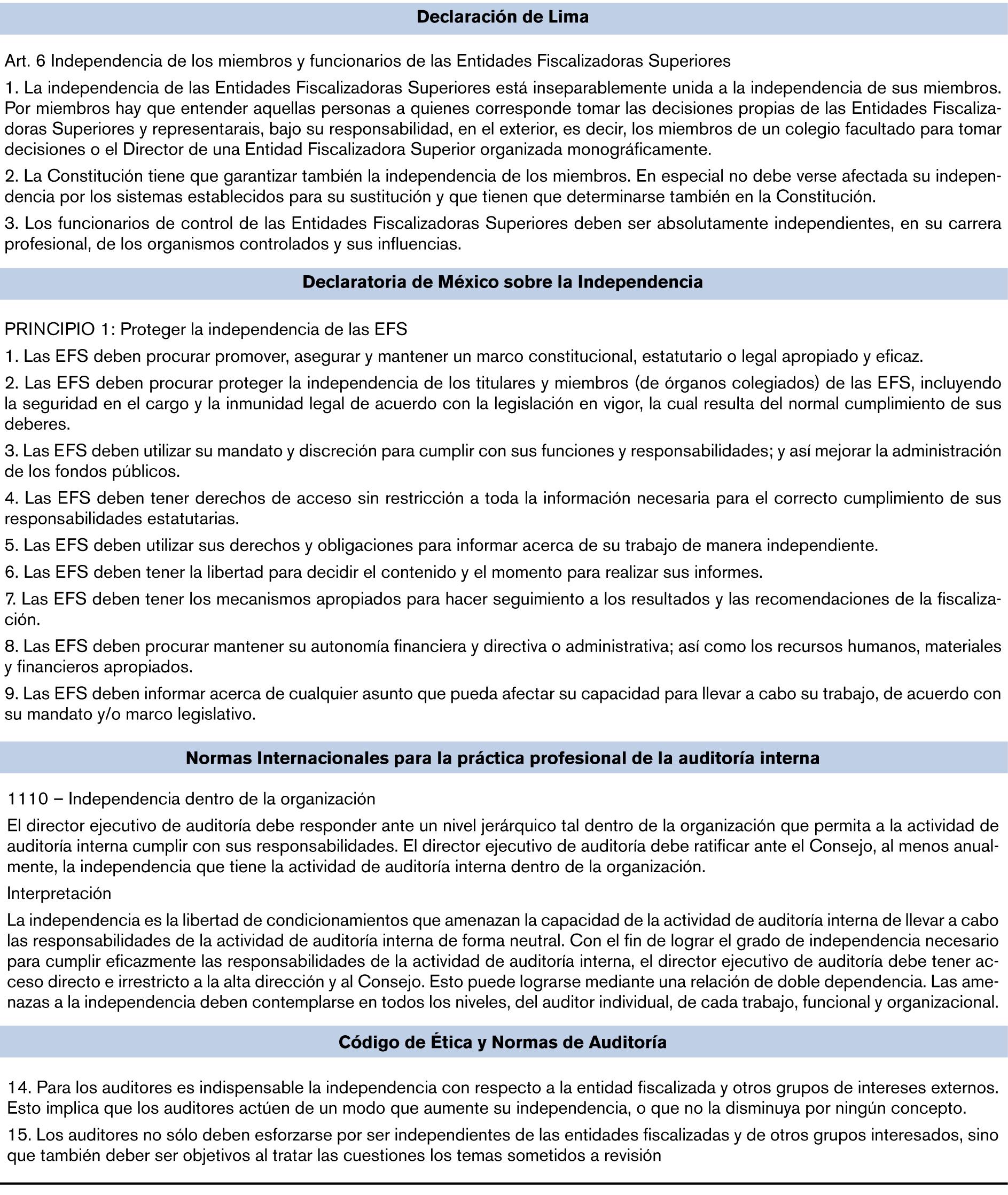 Tratados y convenios internacionales que regulan los principios ...