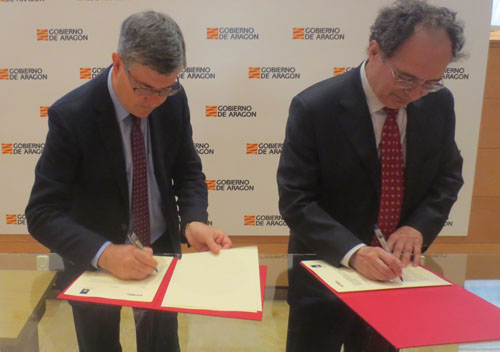 Convenio entre el Gobierno de Aragón y la Cámara de Cuentas de Aragón para la remisión de información sobre convenios