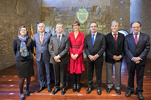 Los Consejeros de la Cámara de Cuentas de Aragón toman posesión de sus cargos en las Cortes de Aragón