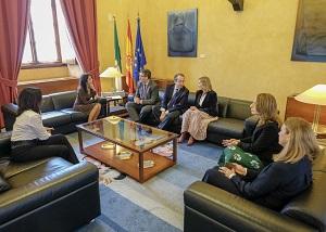Entrega del Informe de la Cuenta General de 2017, la Memoria de 2018 y el Plan de Actuaciones para 2019 de la Cámara de Cuentas de Andalucía