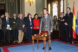 Los miembros de la Sindicatura de Cuentas del Principado de Asturias toman posesión en la Junta General