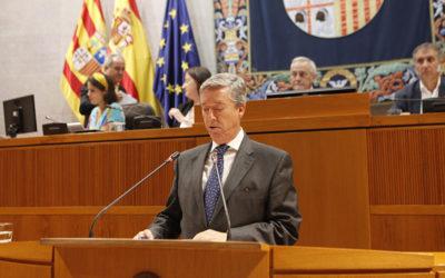 La Cámara de Cuentas de Aragón, inaugura la legislatura con la presentación ante el pleno del Informe de la Cuenta General 2016