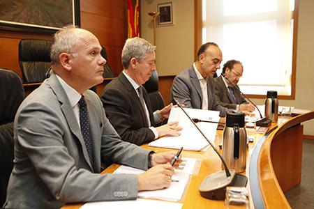 El presidente de la Cámara de Cuentas de Aragón, solicita más medios y regulación para la Unidad de Control Interno de la Universidad de Zaragoza