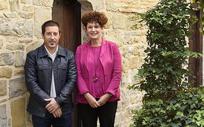 La presidenta de la Cámara de Comptos de Navarra se reúne con el presidente de la FNMC