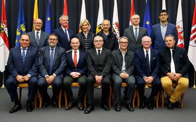 Antonio M. López presidente de la Cámara de Cuentas de Andalucía, elegido vicepresidente de la Organización Europea de las Instituciones Regionales de Control Externo del Sector Público (EURORAI)