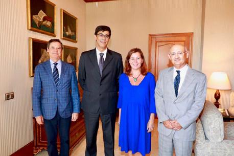 Audiencia de los síndicos con la presidenta de las Illes Balears