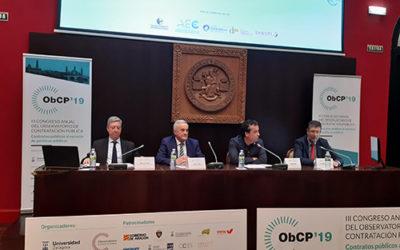 La Cámara de Cuentas de Aragón participa en el III Congreso anual de contratación pública