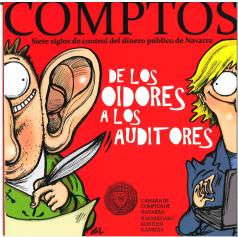 """Presentación del Comic """"De los oidores a los auditores"""" en la Cámara de Comptos de Navarra"""