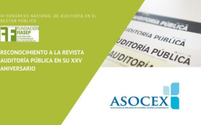 Participación de los OCEX en el Congreso Nacional de Auditoría Pública y  reconocimiento a los 25 Años de la Revista Auditoría Pública
